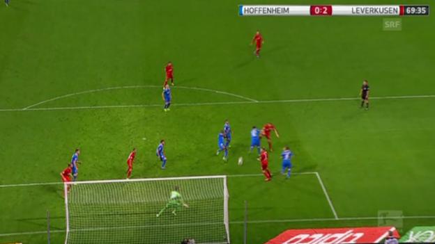 Video «Das «Phantomtor» von Leverkusen (Quelle: SNTV)» abspielen