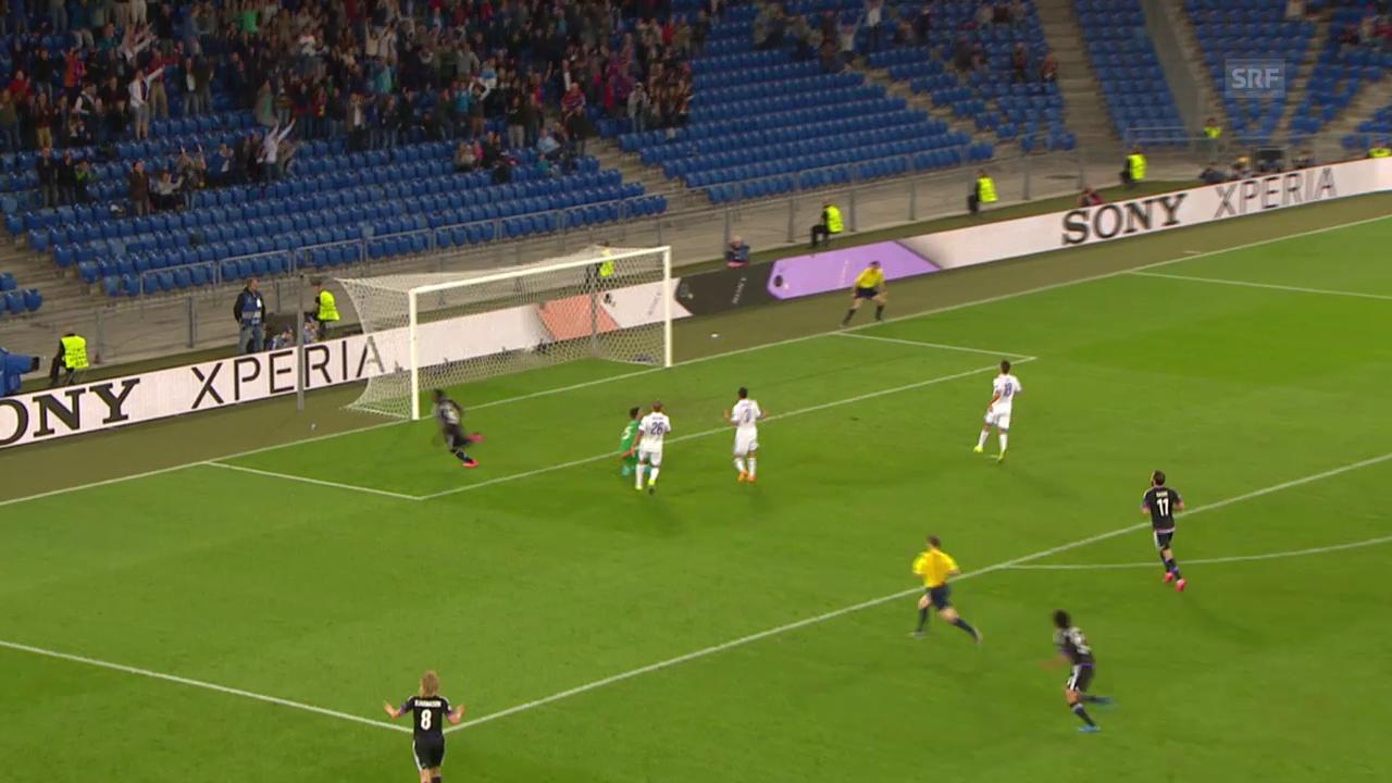 Fussball: Cl-Playoff, Hinspiel, Basel - Maccabi Tel Aviv