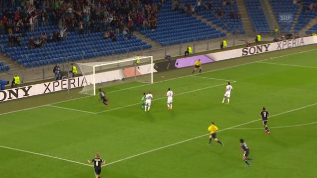 Video «Fussball: Cl-Playoff, Hinspiel, Basel - Maccabi Tel Aviv» abspielen