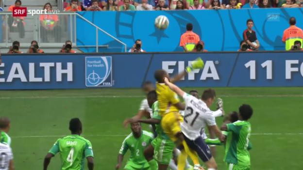 Video «Spielbericht Frankreich - Nigeria» abspielen
