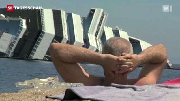 Video ««Costa Concordia» bleibt Attraktion» abspielen