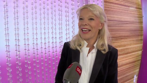 Video «Birgit Steinegger über ihre Zeit bei «glanz & gloria»» abspielen
