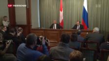 Video «Didier Burkhalter verteidigt OSZE-Beobachter» abspielen
