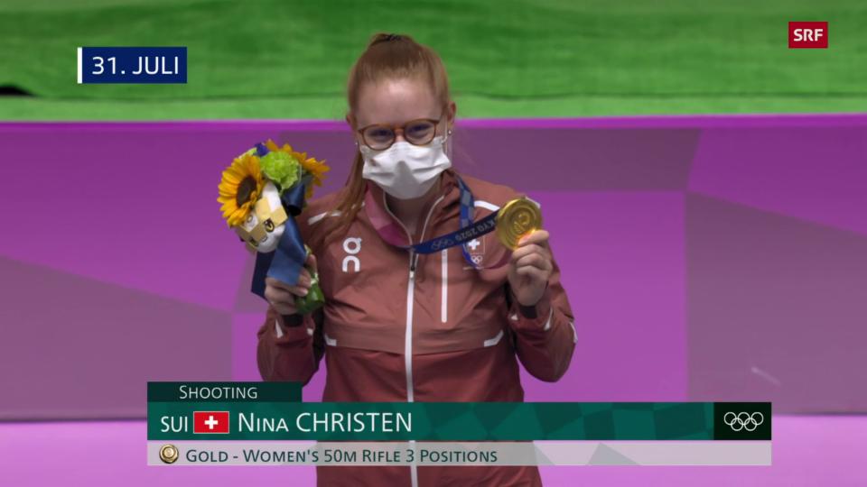 Alle 13 Schweizer Medaillen bei den Olympischen Spielen