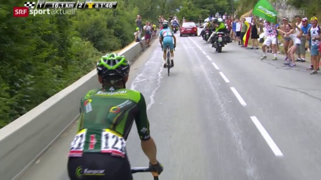 Video «Rad: Tour de France, 19. Etappe» abspielen