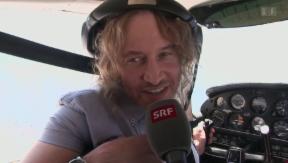 Video ««Gotthard»-Sänger fliegt zur Wolke sieben» abspielen
