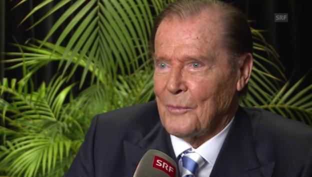 Video «Roger Moore über seine Ähnlichkeit zu James Bond» abspielen