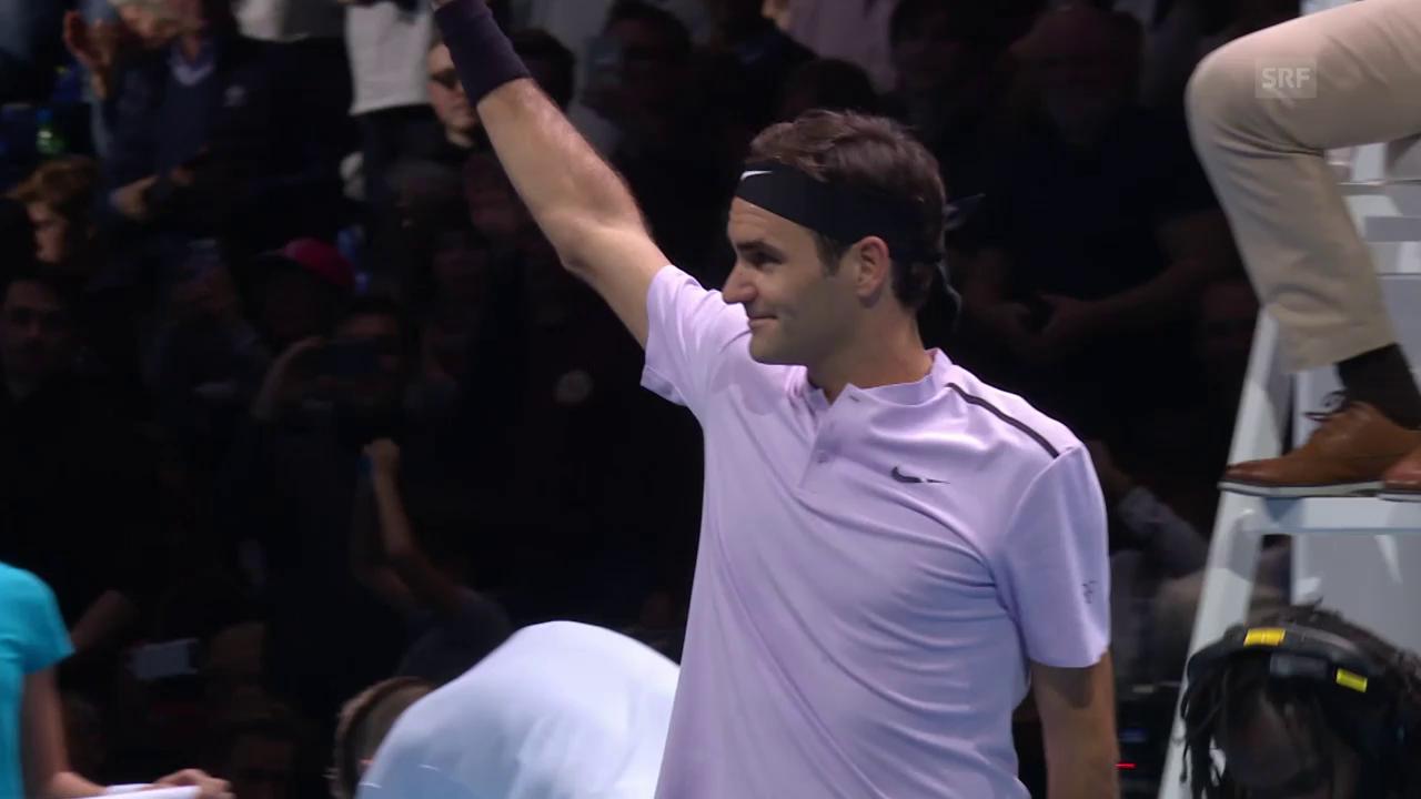 Zusammenfassung kurz Federer - Sock