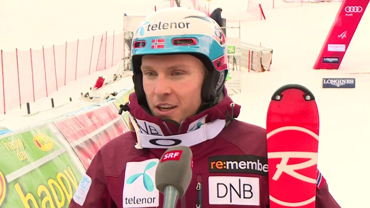 Henrik Kristoffersen spricht über das norwegische Team (englisch)