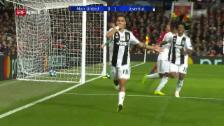 Link öffnet eine Lightbox. Video Juve mit Mini-Sieg bei Manchester United abspielen