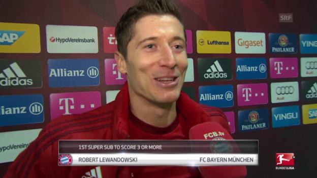 Video «Fussball: Bundesliga, Reaktionen zu Bayern - Wolfsburg» abspielen