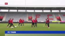 Video «Georgischer Gegner für FC Thun» abspielen