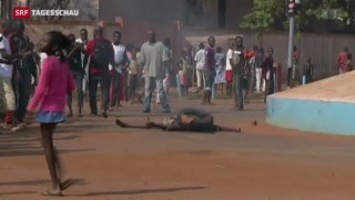 Video «Tod und Chaos in der Zentralafrikanischen Republik» abspielen