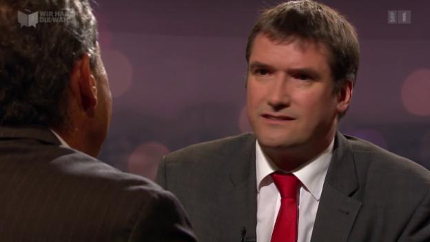 Video «Gast: SP-Parteipräsident Christian Levrat» abspielen