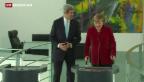 Video «John Kerry auf Kurzbesuch in Berlin» abspielen