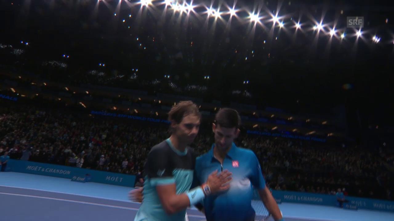 Tennis: ATP Finals, Halbfinal Djokovic - Nadal, Live-Highlights