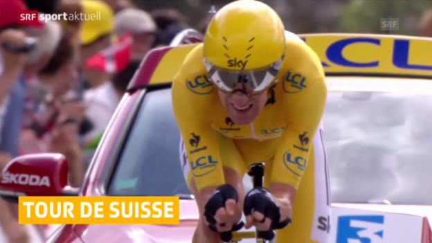 Video «Rad: Hochkarätiges Feld an der Tour de Suisse («sportaktuell», 04.06.2014)» abspielen