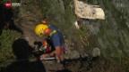 Video «Gefährliche Arbeit unter Hochdruck» abspielen