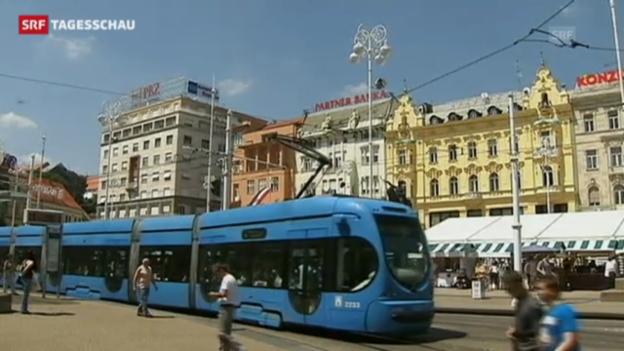 Video «Kroatien wird EU-Mitglied» abspielen