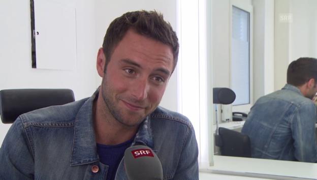 Video «Måns Zelmerlöw auf die Frage, ob er eine Freundin hat» abspielen