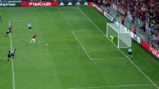 Video «Da Costa verhindert Schlimmeres – und kratzt Handspenalty» abspielen