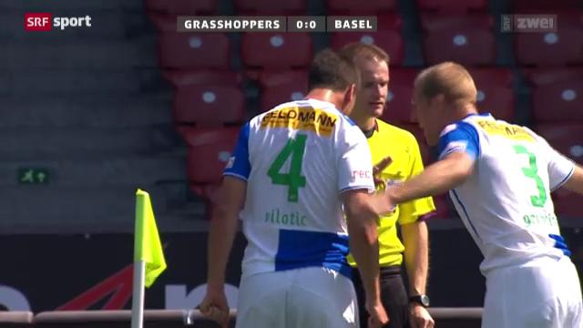 Fussball: GC - Basel