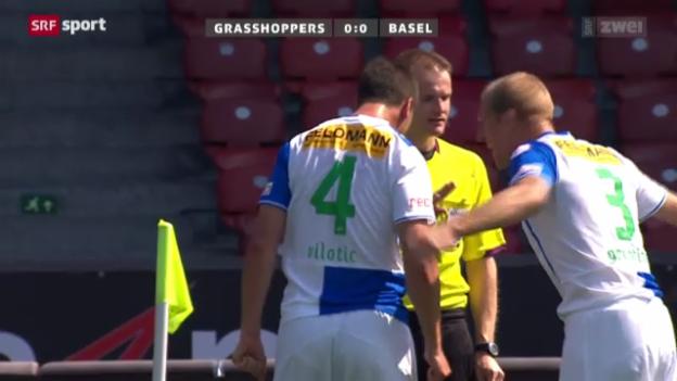 Video «Fussball: GC - Basel» abspielen