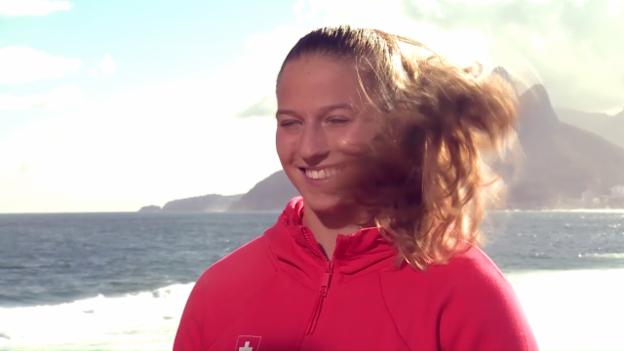 Video «Moser: «Habe schon Usain Bolt gesehen»» abspielen