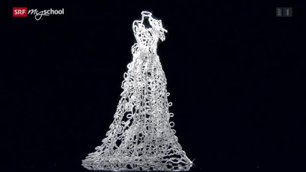 Video «Achtung! Experiment: Ein Hochzeitskleid aus Salz (5/52)» abspielen