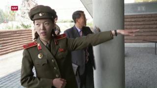 Video «FOKUS: Seltener Einblick in Nordkorea» abspielen