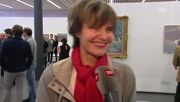 Video «Micheline Calmy-Rey: Ich brauche kein Denkmal» abspielen