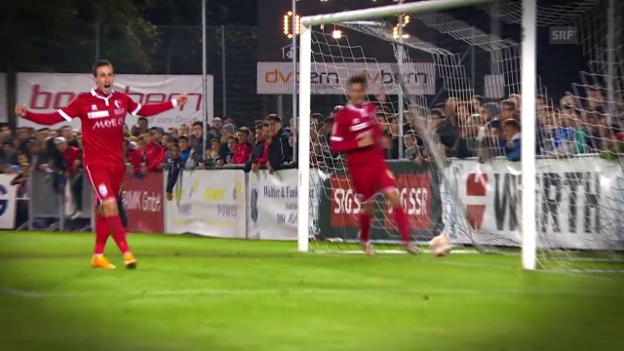 Video «Fussball: Der Weg des FC Sion in den Cupfinal» abspielen