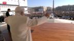 Video «Zehntausende verabschieden Papst» abspielen