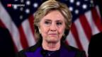 Video «Clinton veröffentlicht Buch über verlorenen Wahlkampf» abspielen
