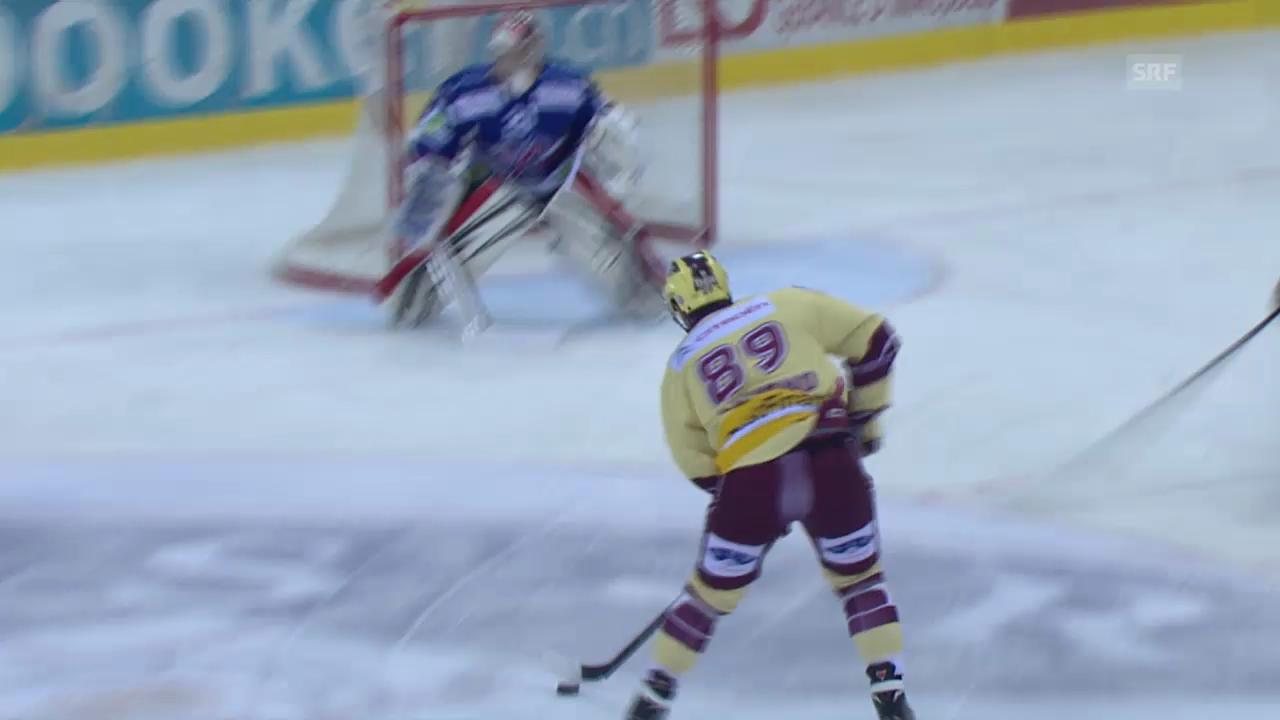 Eishockey: Letztes Tor von Cody Almond für Servette