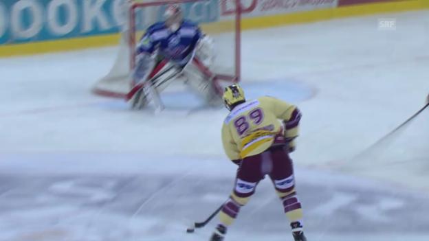 Video «Eishockey: Letztes Tor von Cody Almond für Servette» abspielen