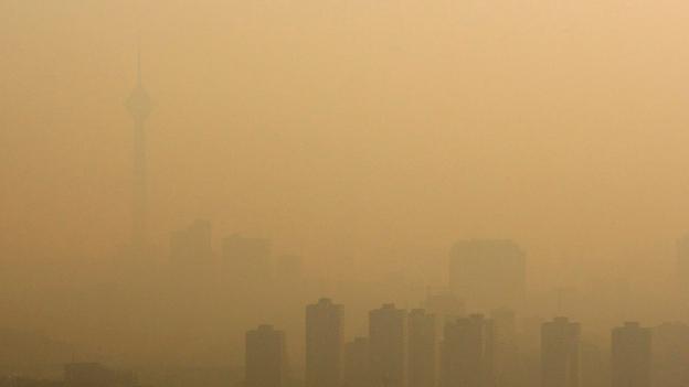 Teheran leidet unter massivem Smog – wie immer mal wieder