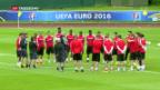 Video «EM in Frankreich: Schweiz kämpft um Gruppensieg» abspielen