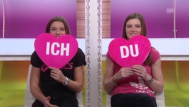 Video ««Ich oder Du»: Ellen und Lea Sprunger» abspielen