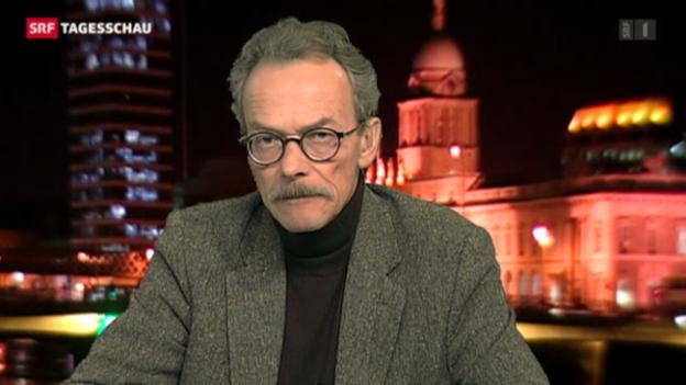 Video ««Tagesschau» 8.1.: SRF-Korrespondent Martin Alioth zur Bedeutung des Flaggenstreits.» abspielen