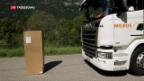 Video «Tessin will nur noch digitalisierte LKW im Alpenverkehr» abspielen