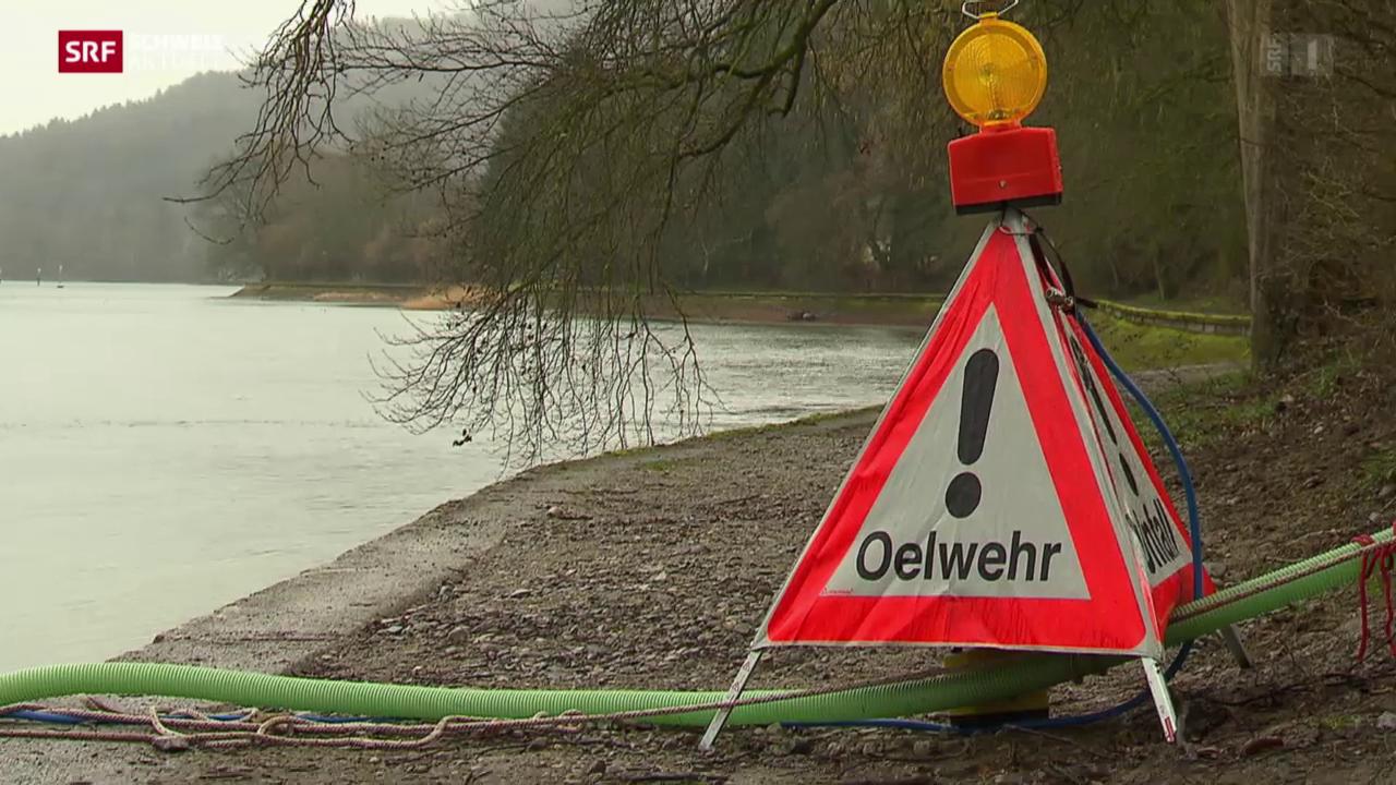 Gewässerverschmutzung Rhein