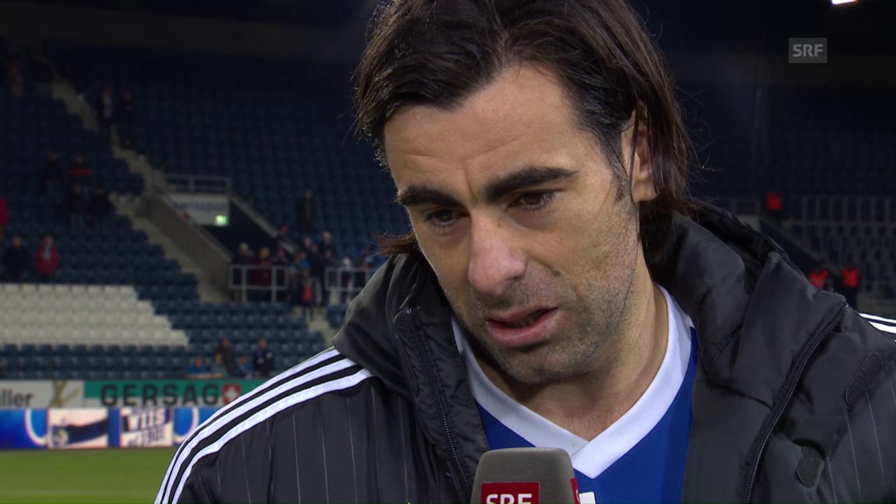 Matchwinner Puljic im Interview