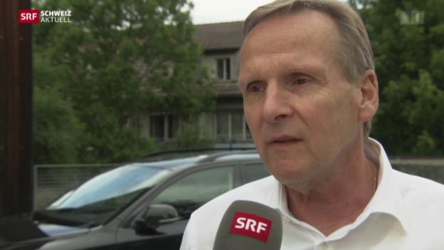 Video «SVP-Gemeindepräsident gegen Parteispitze» abspielen