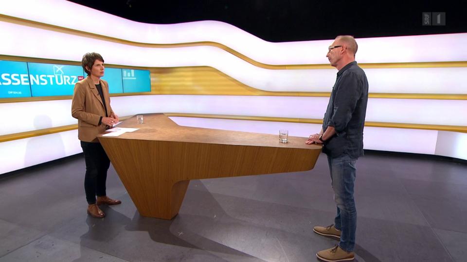 Studiogespräch mit Pierre-André Wagner, Leiter Rechtsdienst SBK
