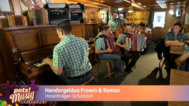 Handorgelduo Frowin & Roman