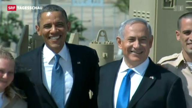 Obama in Israel: eine Reise, gespickt mit PR-Aktionen