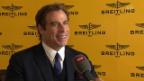 Video «Hollywood in Genf: John Travolta immer noch im Tanzfieber» abspielen