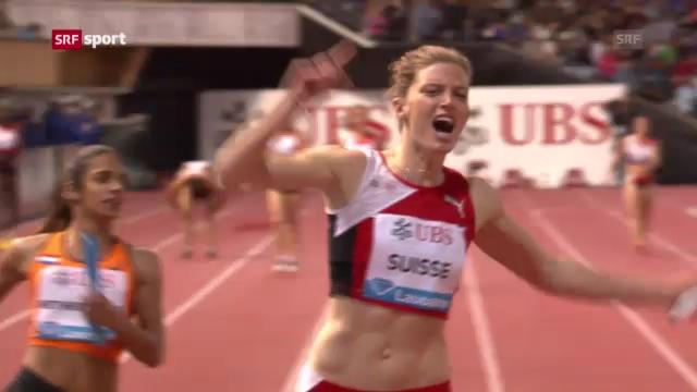 Rekordlauf der Frauenstaffel ««sportaktuell»)
