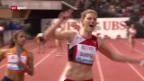 Video «Rekordlauf der Frauenstaffel ««sportaktuell»)» abspielen